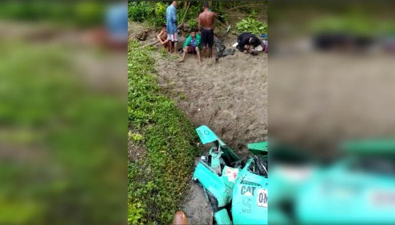 Accidente en la Zona Bananera deja varios heridos