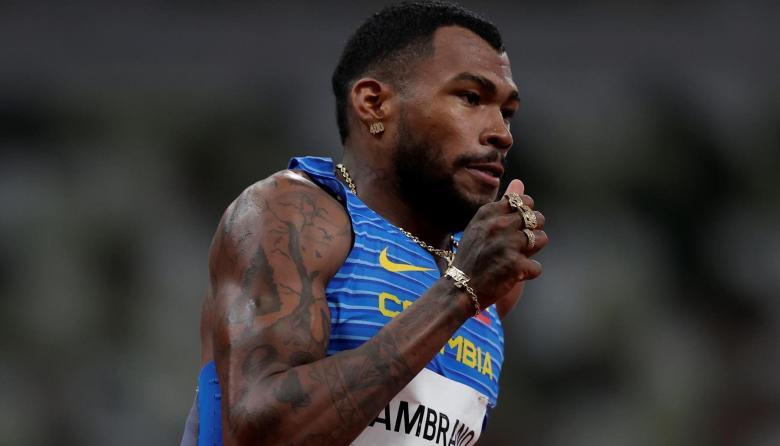 Anthony Zambrano es el líder de la clasificación mundial de los 400 metros