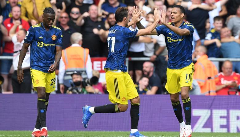 Manchester United evitó derrota sobre el final del partido en la Premier League