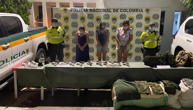 Capturada excandidata a la Asamblea con cargamento de armas en el Magdalena