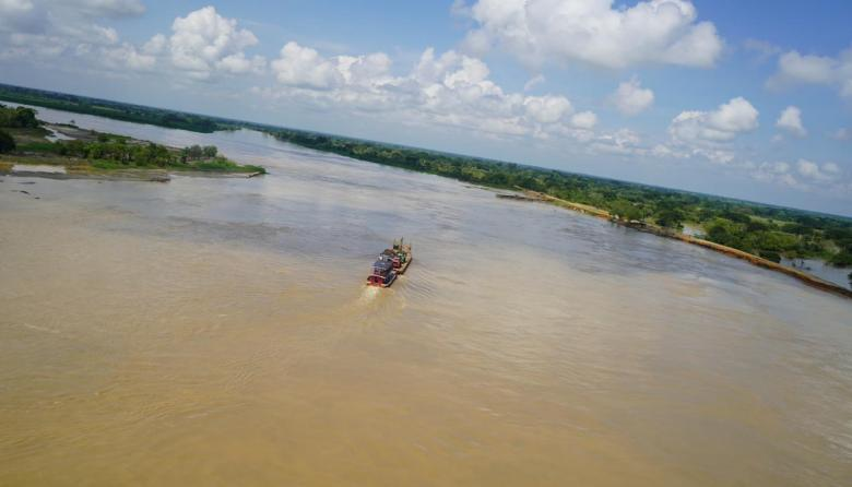 Defensor del Pueblo sobrevuela zonas inundadas en La Mojana