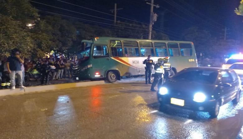 Asesinan a conductor de un bus en Soledad