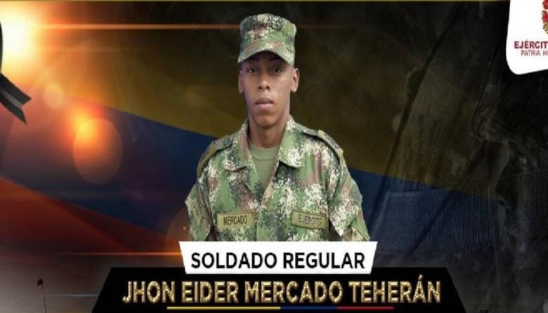 Muere soldado cartagenero en Sardinata, Norte de Santander