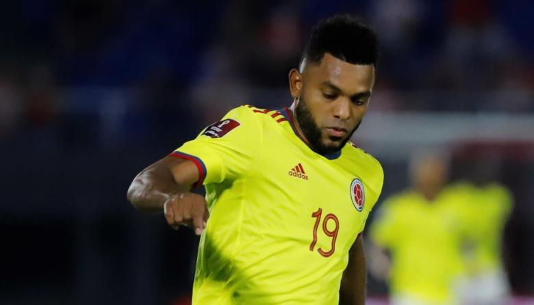 Miguel Borja, baja en la Selección Colombia