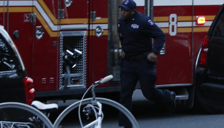 Imágenes del ataque terrorista en Manhattan