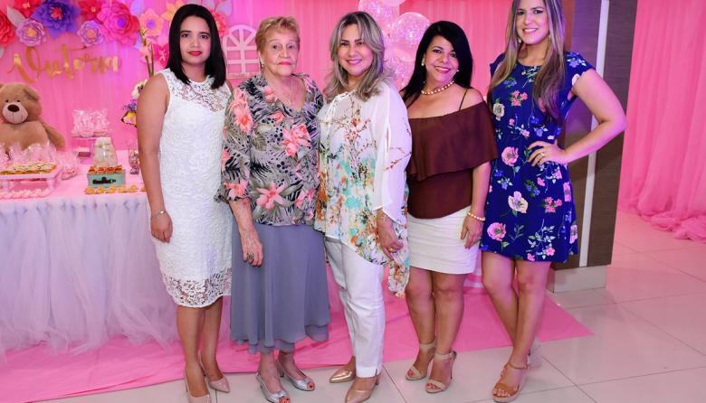 Baby shower para Natalia Ortega de Giraldo