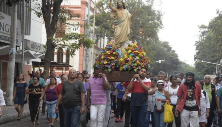 En imágenes   Así se vivió el Domingo de Resurrección en Barranquilla
