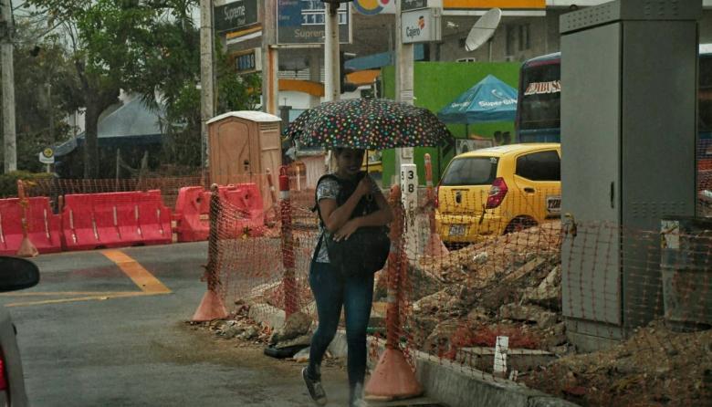 Así se vio Barranquilla y algunos puntos del Atlántico bajo la lluvia
