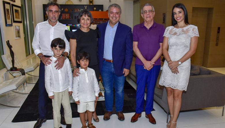 Coctel en honor al presidente Iván Duque