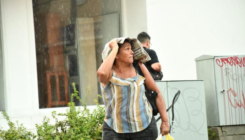 Barranquilla pasó otro día bajo lluvia este martes