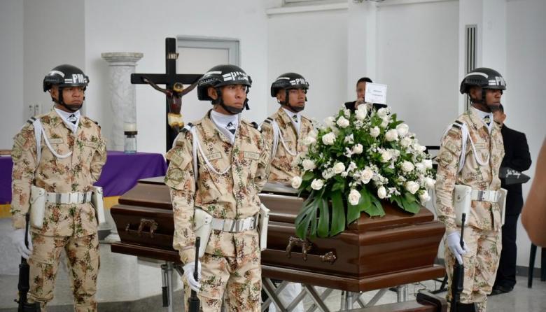 Así fueron las honras fúnebres del actor barranquillero Rodrigo Obregón