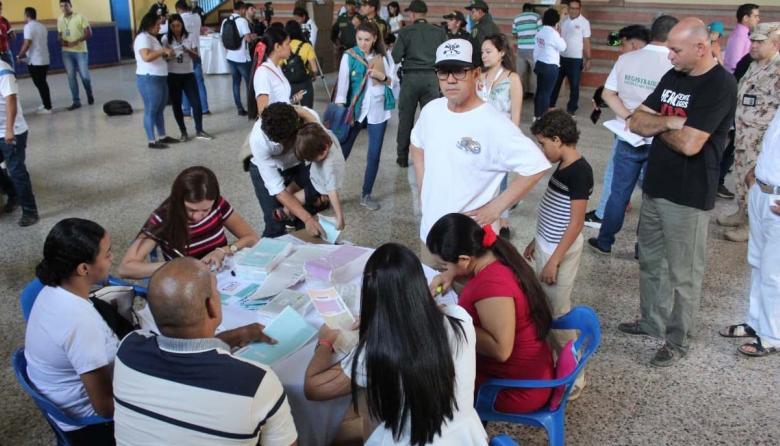 Así transcurren las votaciones en la Costa Caribe