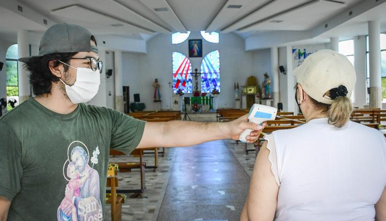 Iglesias del Atlántico con todos los protocolos listos para su reapertura
