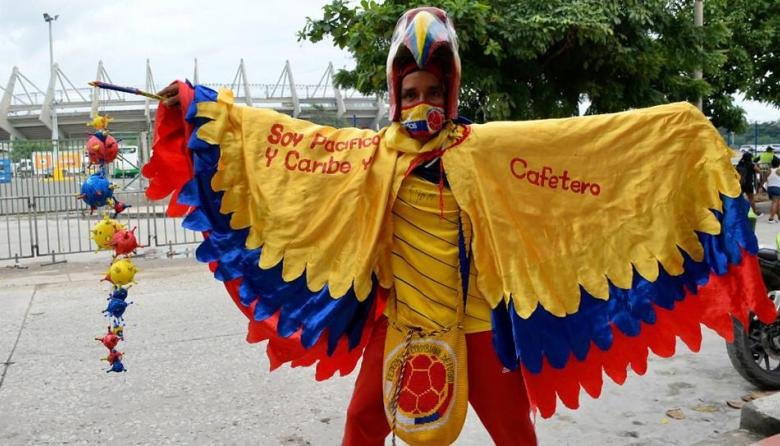 Así se ve Barranquilla en medio del partido Colombia vs. Uruguay