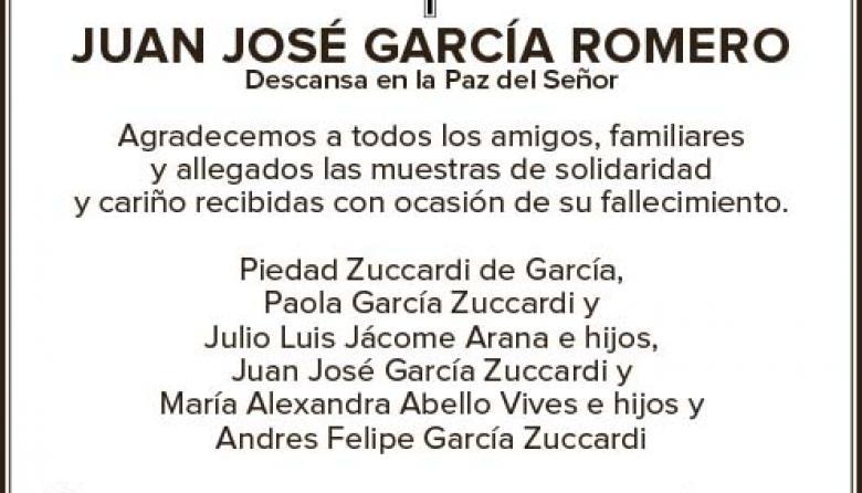 Juan José García Romero