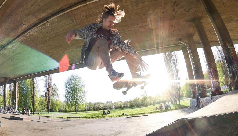 Skateboarding, un deporte con mucha habilidad que cada día gana más adeptos