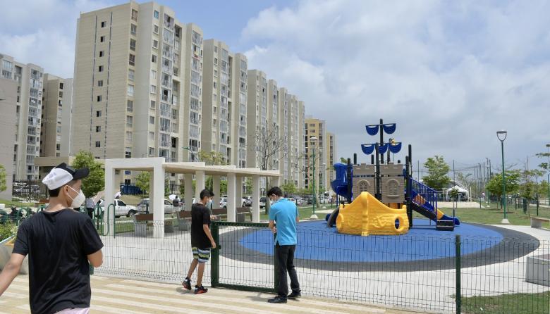 Nuevos parques en Alameda del Río