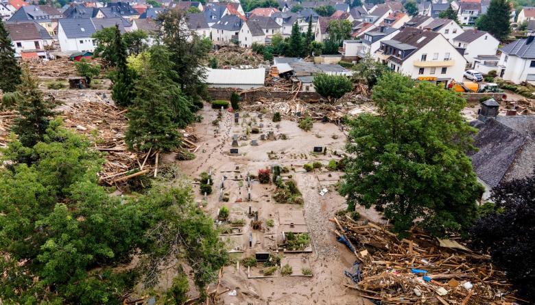 Estas son las devastadoras imágenes de las inundaciones en Alemania