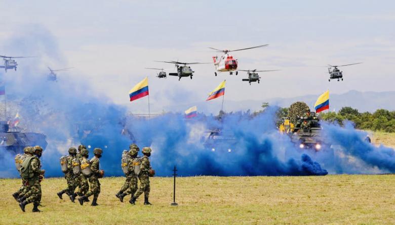 Los momentos de la celebración de los 202 años de la Batalla de Boyacá