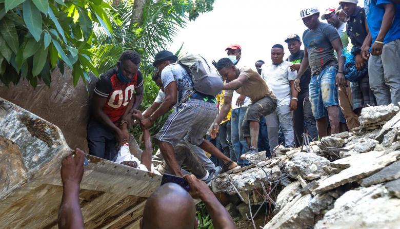 Haití, nuevamente devastado por otro terremoto de gran magnitud