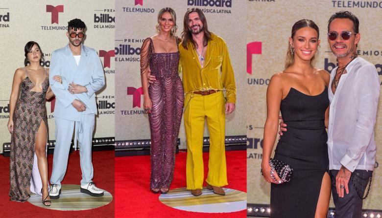 Sensualidad y riesgo brillan en la alfombra roja de los Billboard