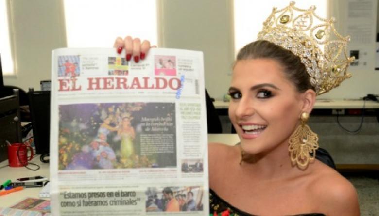 Video: La Reina del Carnaval se tomó a EL HERALDO