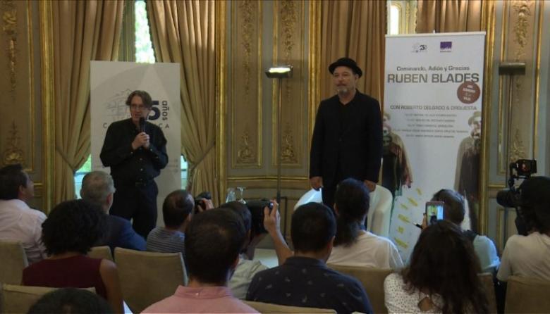 En video | Rubén Blades renuncia a giras musicales para aspirar a la presidencia de Panamá