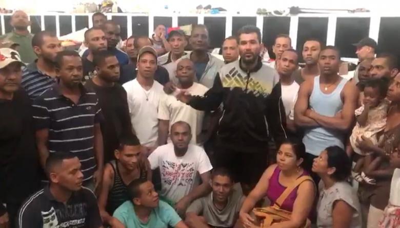El triste mensaje de uno de los 58 colombianos presos en Caracas a su mamá