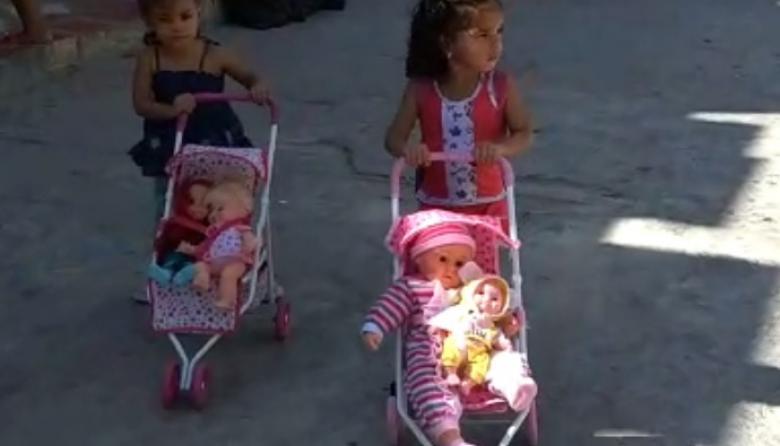 En video | Alegría en el barrio Galán por la llegada del Niño Dios