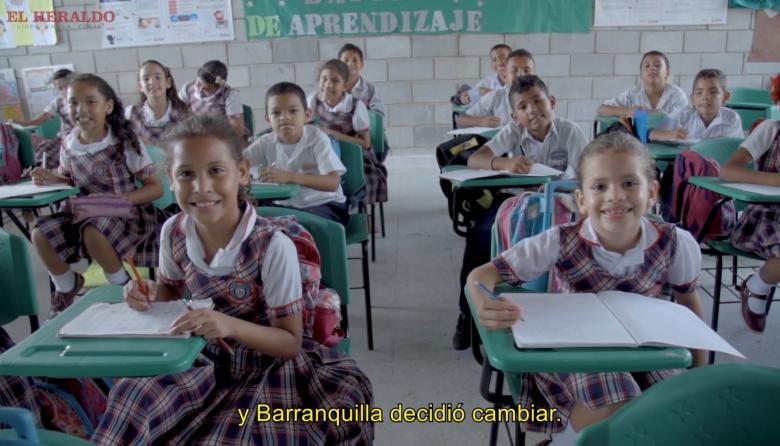 Barranquilla se pone la 10 en educación