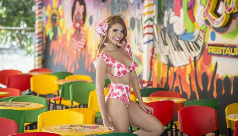 Chica Miércoles | Kelly Restrepo, Reina del Carnaval de la 44