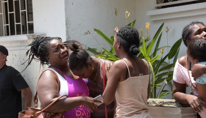 """Pedimos colaboración a quien haya visto a los que dispararon"": tía de niña baleada en atraco a bus"