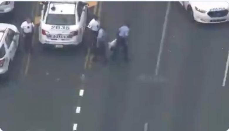 En video | Capturan a tirador que hirió al menos 5 policías en Filadelfia