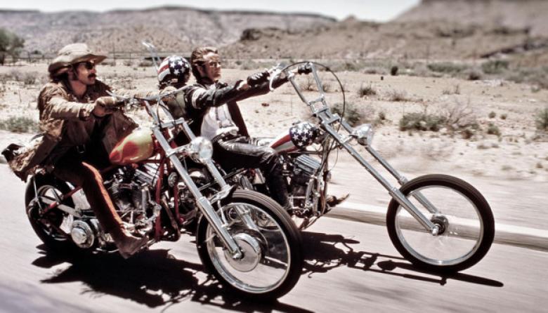 'Easy Rider', la célebre película de Peter Fonda