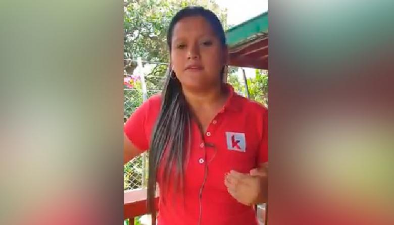El video en que candidata asesinada hablaba de amenazas en su contra
