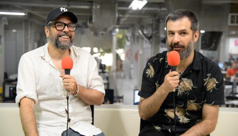 En video | El stand up comedy ilustrado de Liniers y Montt