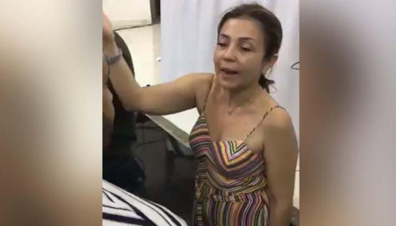En video | Polémica en Soledad por comportamiento inusual de Secretaria de Salud