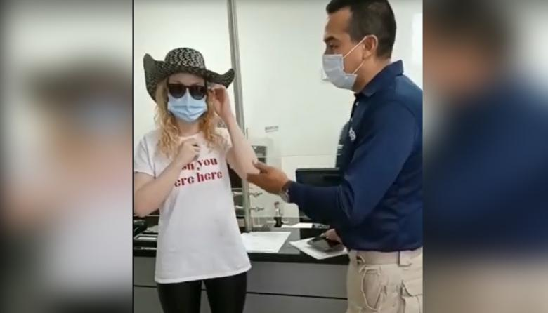 Así fue expulsada ciudadana alemana que perteneció a la 'primera línea' en Cali