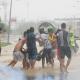Pelea de pandillas bajo la lluvia, una problemática que no da tregua
