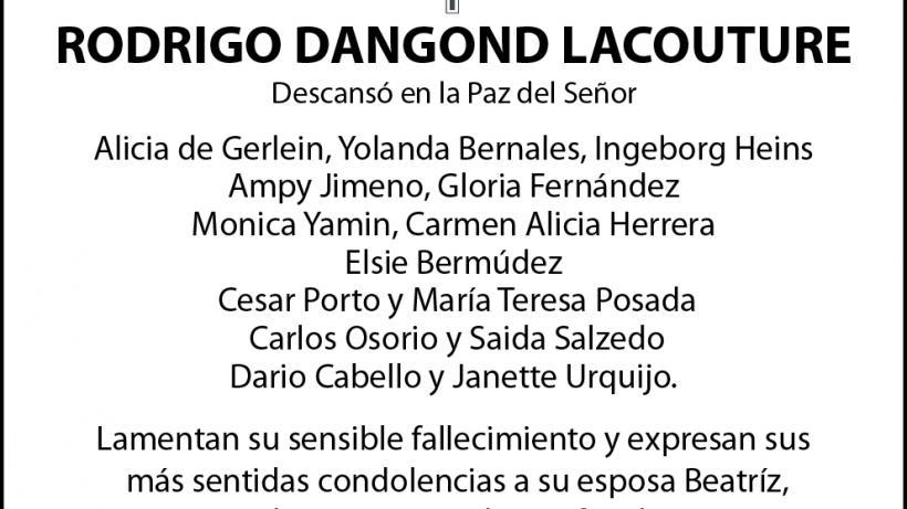 Rodrigo Dangond Lacouture