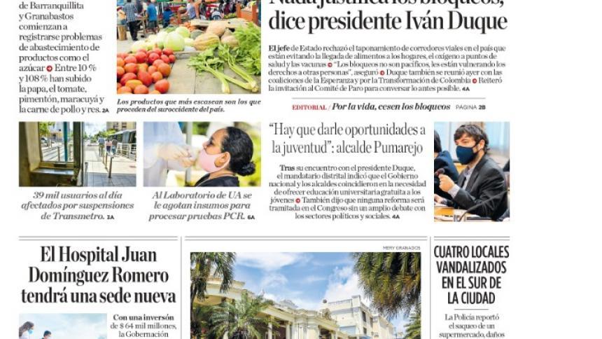Bloqueos disparan precios de alimentos en Barranquilla