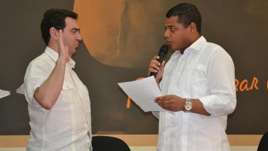 Faihan Al-Fayes Chaljub toma posesión del cargo como gobernador (e) de La Guajira.
