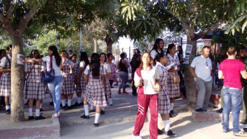 Por protesta, suspenden jornada académica en el colegio Las Misericordias