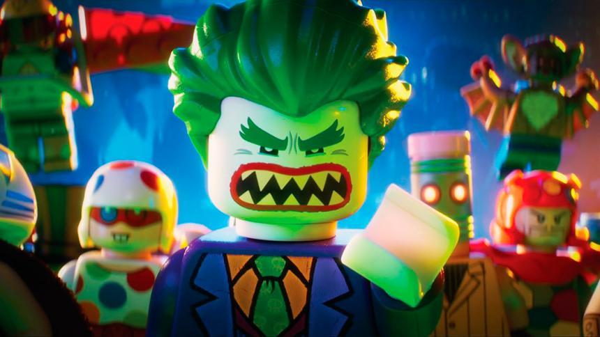 """Una escena de """"The Lego Batman Movie""""."""