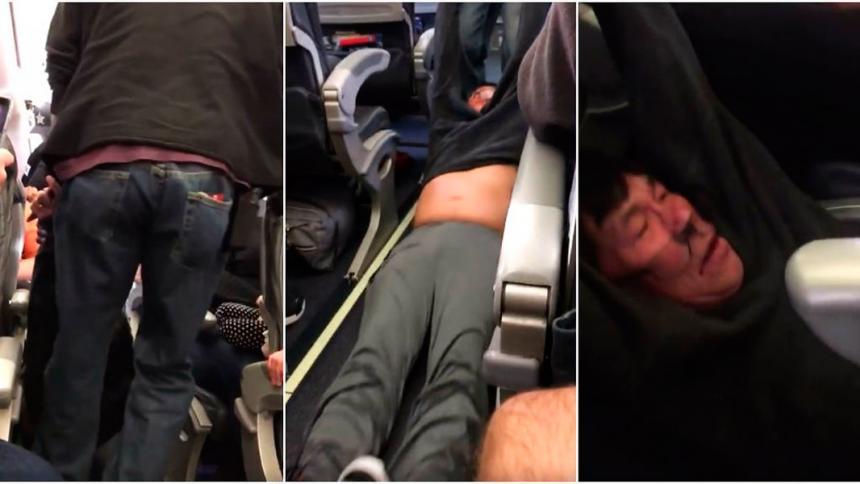 United se disculpa con pasajero expulsado de un avión