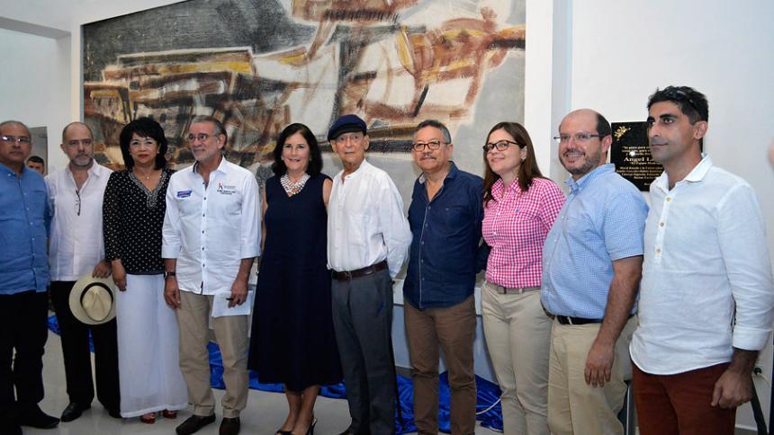 """Develan mural """"Pájaro Madrugador"""" en Universidad del Atlántico"""