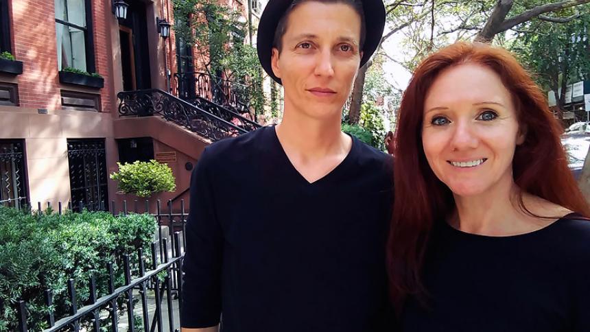 """Dos mujeres se darán el """"sí"""" 24 veces para homenajear el matrimonio gay"""