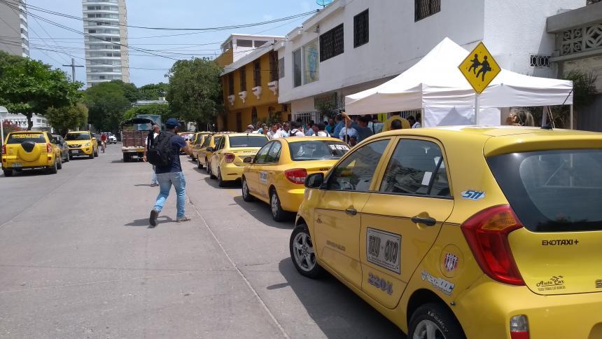 Comenzó instalación de 3.583 taxímetros en Santa Marta