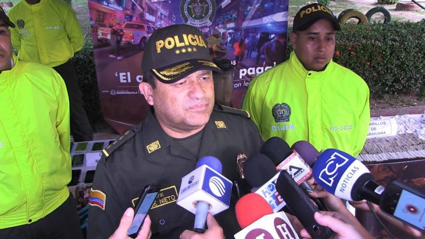 En video   Combatimos zonas de miedo en Barranquilla: general Nieto