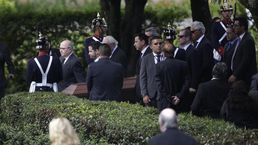 El expresidente Belisario Betancur descansa en paz